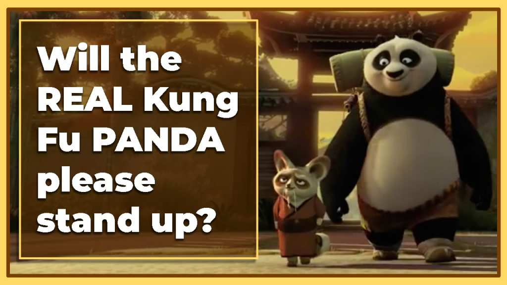Will the real Kung Fu Panda please stand up?